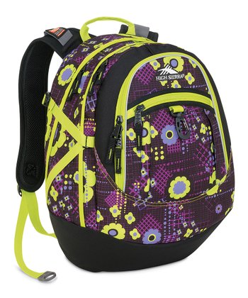 Electric Flower Fat Boy Backpack