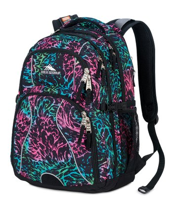 Rainbow Feather Loop Backpack