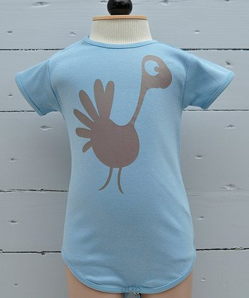 Nile Peacock Organic Bodysuit - Infant