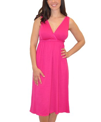 Pink Signature Nursing Nightgown - Women & Plus