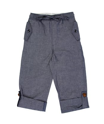 Dusk Chambray Cuffed Pants - Boys