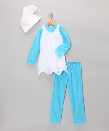 Blue Smurfette Fancy Dress-Up Set - Girls