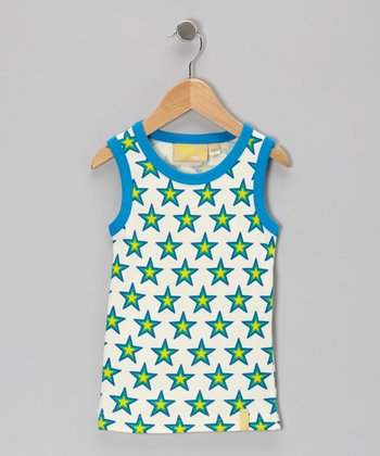 Blue Star Organic Tank - Infant, Toddler & Kids