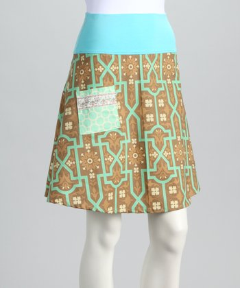 Tan Art & Craft Skirt - Women