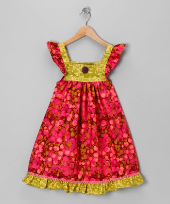 Pink Cherries Jubilee Dress - Infant & Girls