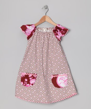 Cinnamon Island Peasant Dress - Toddler & Girls