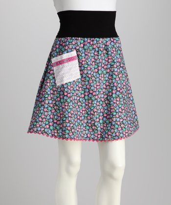 Lavender Field of Flowers Skirt - Women & Plus