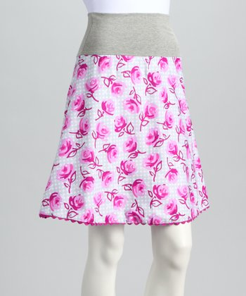 Lavender Rose Skirt - Women
