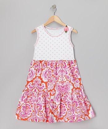 Orange Crush T-Shirt Dress - Infant & Girls