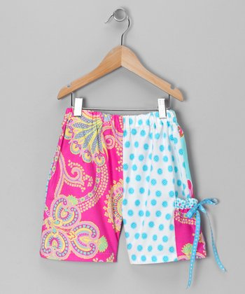 Raspberry Slush Shorts - Toddler & Girls