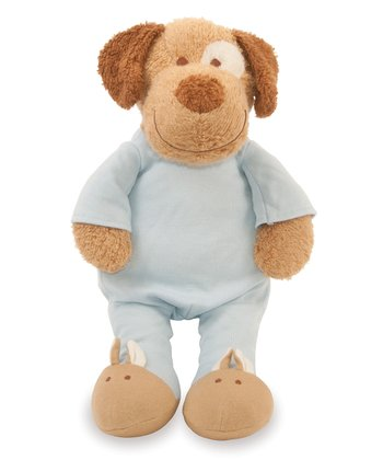 Blooming Sprouts Doggy in Blue Plush Toy