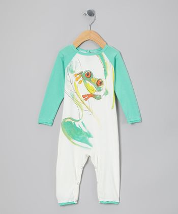 White Frog Organic Playsuit