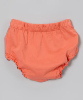Coral Organic Diaper Cover - Infant