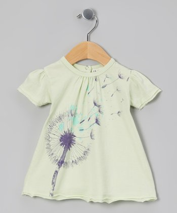 Waterfall Green Dandelion Organic Tee - Infant