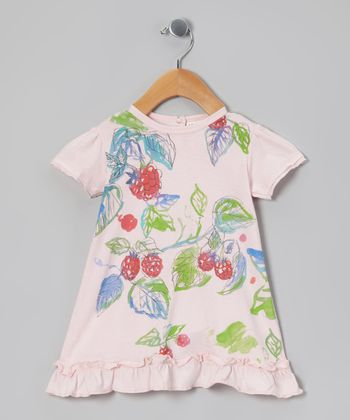 Pink Mist Berry Patch Organic Tunic - Infant