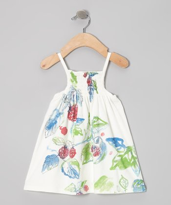 White Berry Patch Organic Dress - Infant
