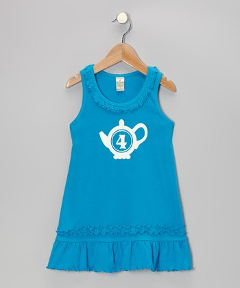 Island Blue Personalized Dress - Infant, Toddler & Girls