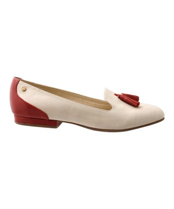 Biscotti & Cosmo Red Gwen Loafer