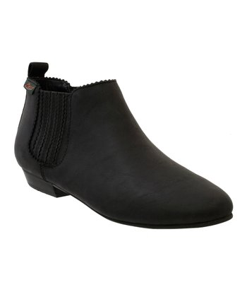Black Hadley Ankle Boot