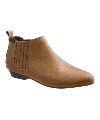 Tan Hadley Ankle Boot