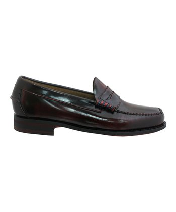 Burgundy Naples Loafer