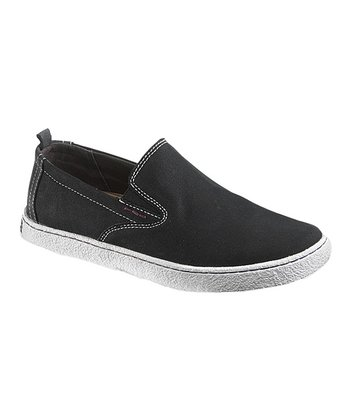 Black & Gray Locksmith Slip-On Sneaker