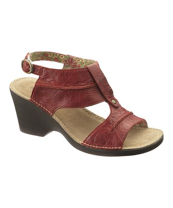 Red Havana Sandal - Women