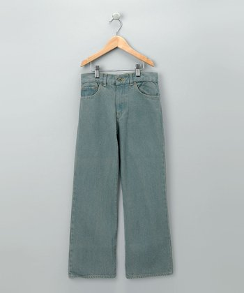 Gray Denim Jeans - Toddler & Boys