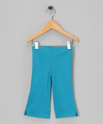 Blueberry Organic Capri Pants - Toddler & Girls