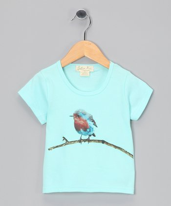 Blue Bird Organic Tee - Toddler & Girls