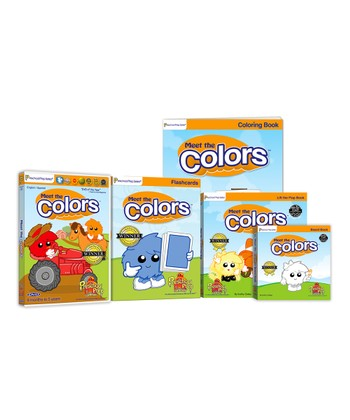 Colors DVD & Book Set