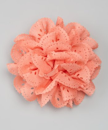Peach Flower Clip/Pin