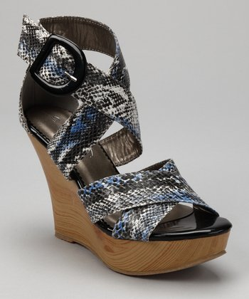 Pewter Bianca Wedge