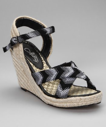 Black Nicky Espadrille