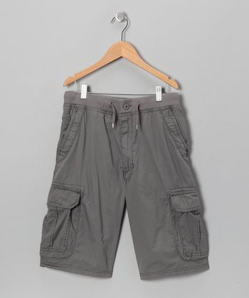 Satellite Knit-Waist Cargo Shorts
