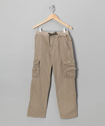 Desert Drawstring Cargo Pants - Boys