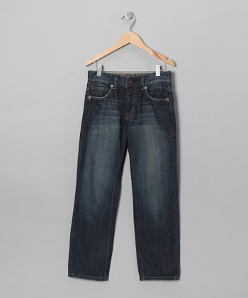 Light Wash Yukon Straight-Leg Jeans