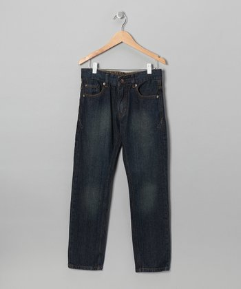 Medium Wash Yukon Straight-Leg Jeans - Boys