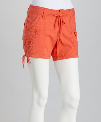 Vermillion Hilo Shorts