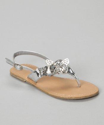 Silver Reina Sandal