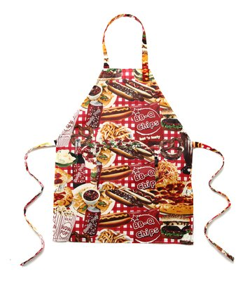 Junk Food Apron - Kids