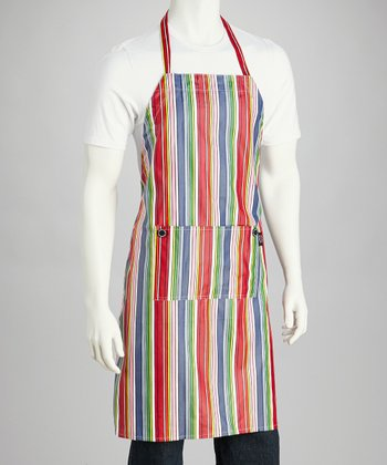 Groovy Stripe Apron - Adults