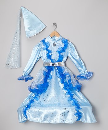 Blue Fairy Dress-Up Set - Girls