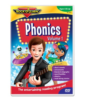 Phonics Vol. 1 DVD