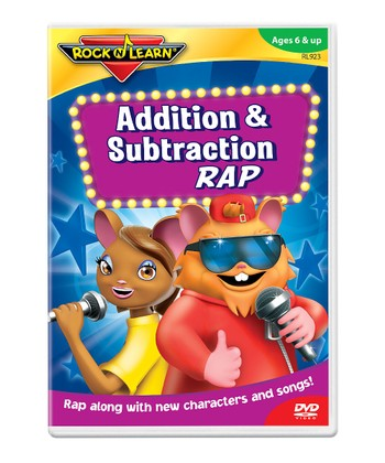 Addition & Subtraction Rap DVD