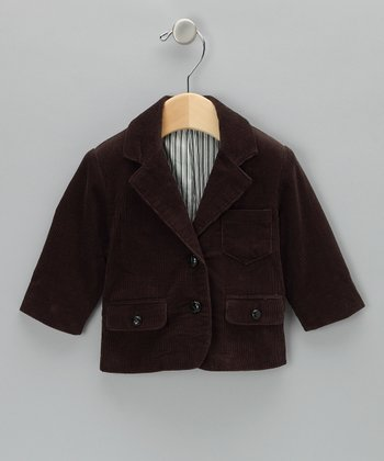 Chestnut Corduroy Jacket - Infant, Toddler & Boys