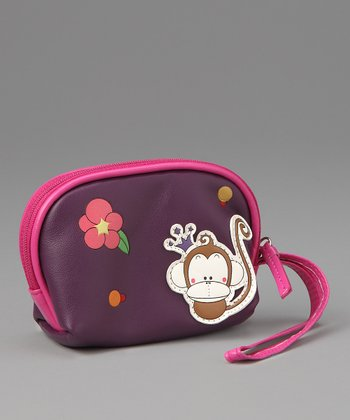 Purple Faye Coin Purse