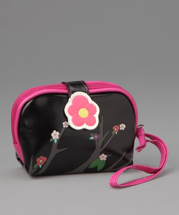 Black Sakura Coin Purse
