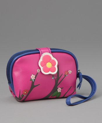 Pink Sakura Coin Purse