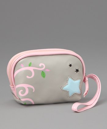 Pink Starry Coin Purse